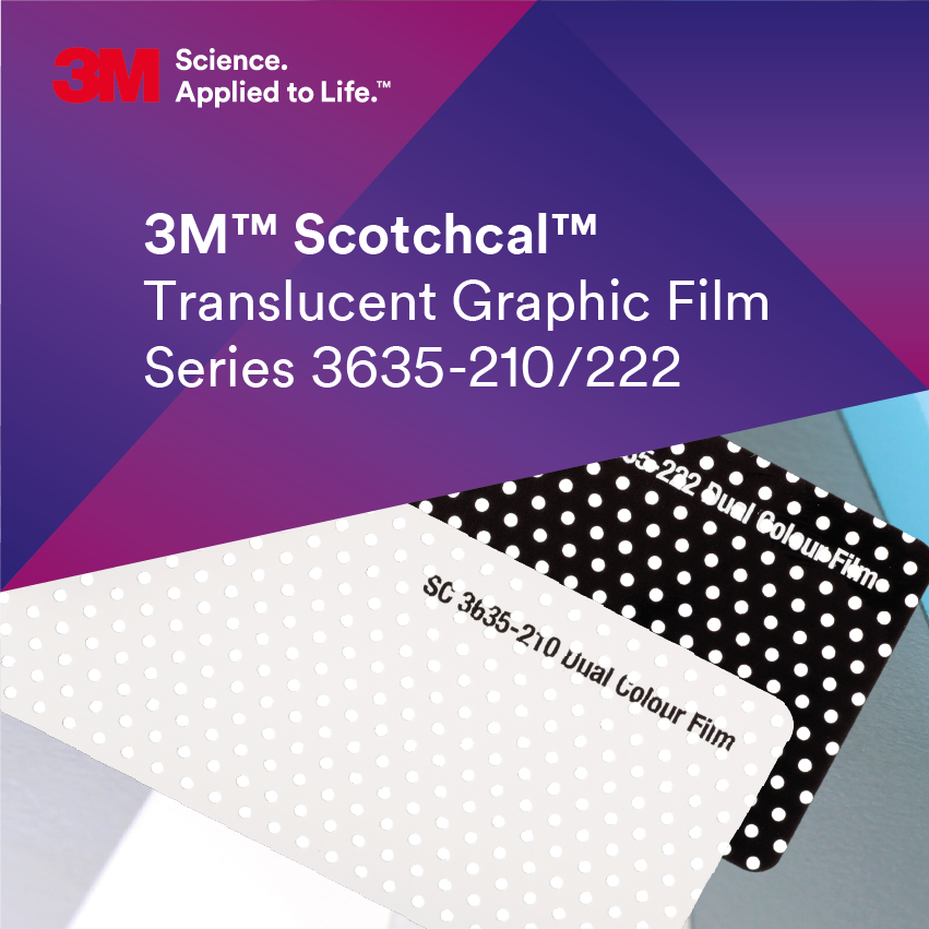 3M™ Scotchcal™ 3635-210/222 Dual color
