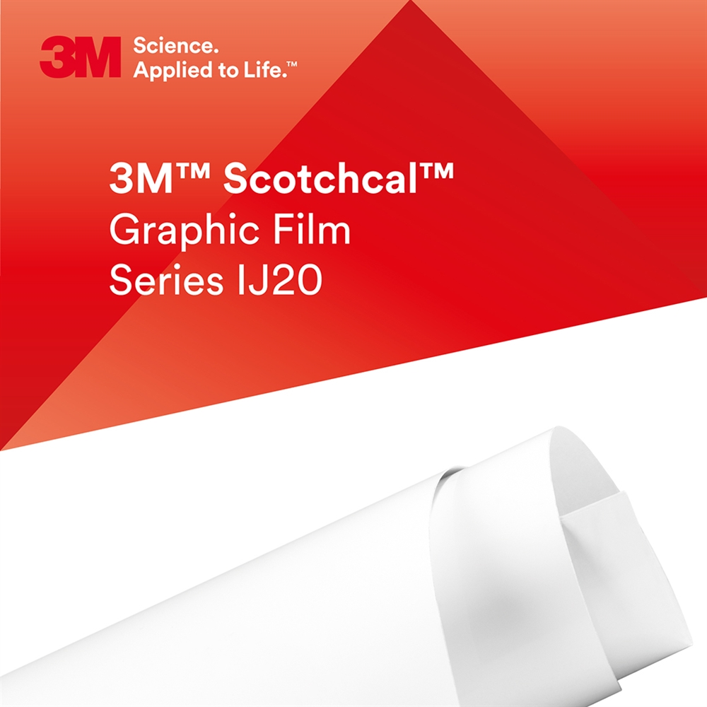3M™ Scotchcal™ IJ20-124R Transparent matt