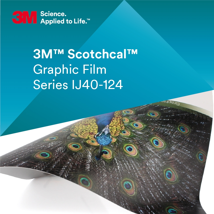 3M™ Scotchcal™ IJ40-124 Transparent matt