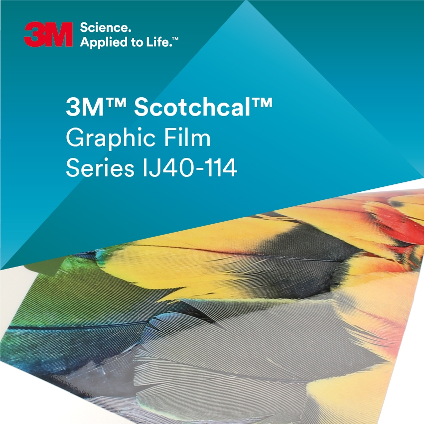 3M™ Scotchcal™ IJ40-114 Transparent blank