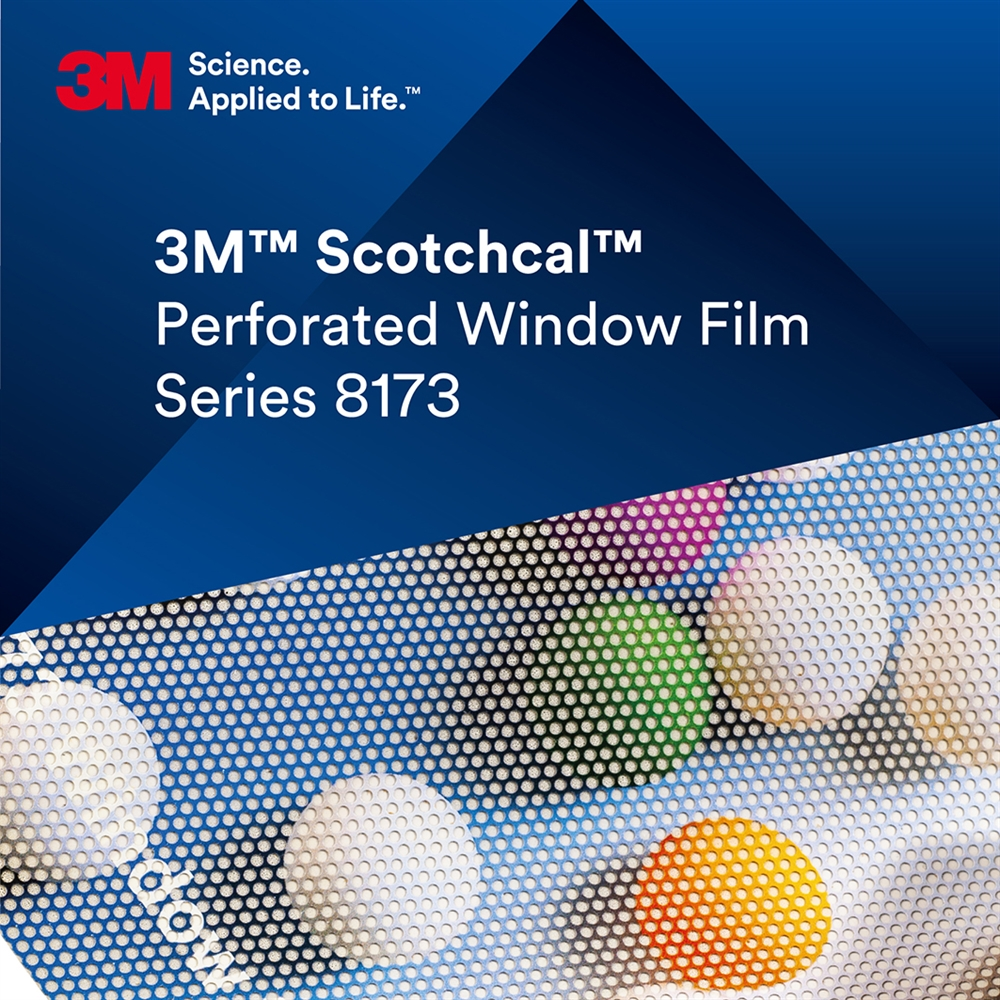 3M™ Scotchcal™ 8173 Perforerad